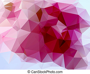 triangle background - vector illustration of triangle...