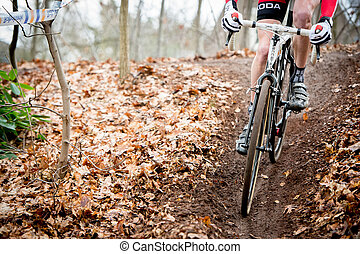 Downhill bij het Veldrijden - Van een heuvel af rijden...