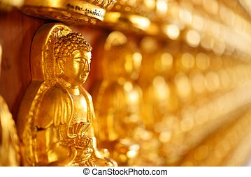Buddha stature perspective view - Beautiful buddha stature...