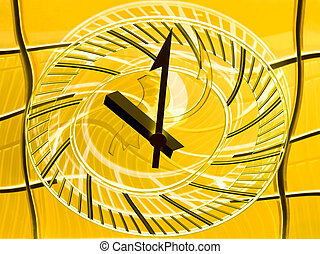 Conceptual view of a station clock - Conceptual view of a...