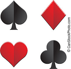playing card symbol - suitable for decorations