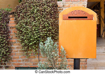 postbox classic - Postbox classic Arranged in gardens as...