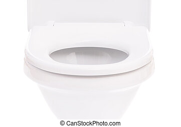 Toilet bowl - New toilet bowl isolated on white background