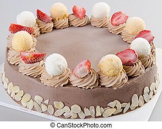 ice cream chocolate ice cream cake - ice cream cake...