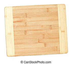 bambu, hugga av, bord