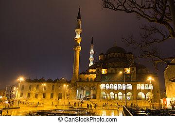 Eminonu New Mosque in Istanbul
