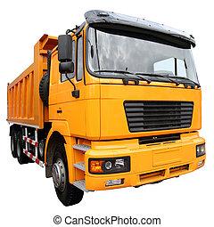 Camión, amarillo