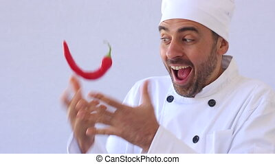 kitchen fun with red hot chili pepe - Chef With Red Hot...