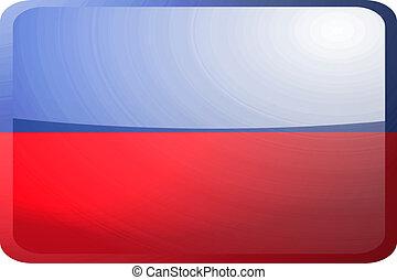 Flag of Haiti button
