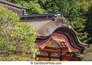 Dazaifu Tenmangu Shrine detail
