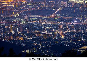 10 million dollars night view. KOBE. JAPAN