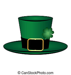 leprechaun hat symbol of St Patricks Day