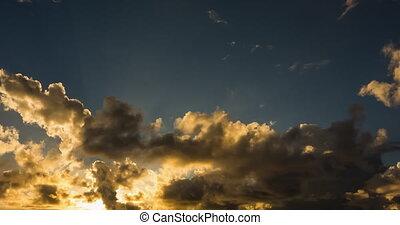 4K Sunset Timelapse, Mauritius