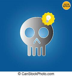 Skull get bright idea