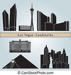 Las Vegas landmarks and monuments