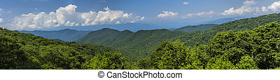 Natural Landscape of the Great Smoky Mountains - The natural...