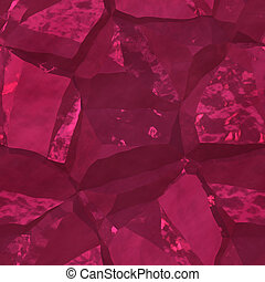 Crystal facets - Crystalline mineral and metal shiny faceted...