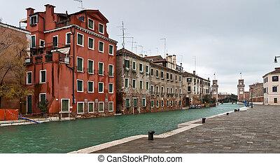 Venice Arsenale entrance view