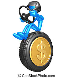 Dollar Coin Currency Racer - 3D Concept And Presentation...