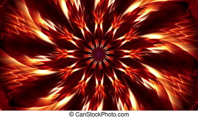 Flower of fire - Background Animation - Art supplies -...