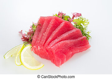 Fresh tuna fillet