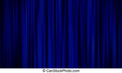 Blue Curtains - Blue Curtains