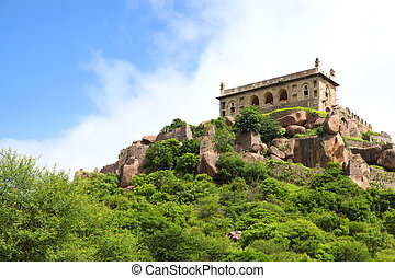 Golkonda fort - 400 year old historic Golkonda fort in...