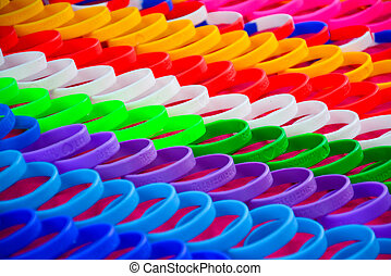 Colorful wristband  - Colorful of wristband  in Thailand