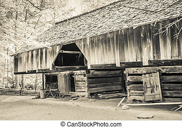Cable Mill Cantilever Barn - The Cable Mill Cantilever Barn...