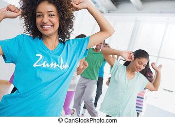 condicão física, classe, instrutor, Pilates,...