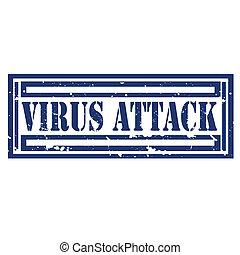 Virus Attack-stamp