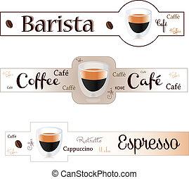 Banner espresso coffee