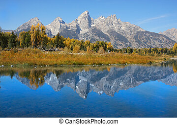 national, Parc,  teton, Grandiose