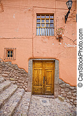 House in Cusco - Fragment of an old house in Cusco, Peru...