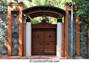 Admirable Front Garden Gate Images And Stock Photos 1 025 Front Garden Gate Largest Home Design Picture Inspirations Pitcheantrous
