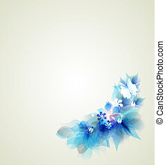 Abstract artistic Background - Abstract elements for design