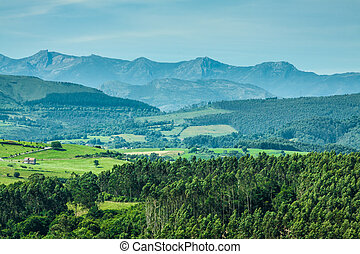 Peaks of Europe , Cantabria, Spain