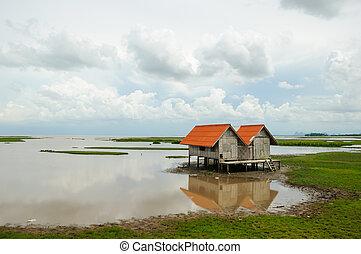 Lake and sky villas