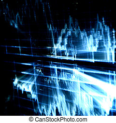 techno graph abstract background marco