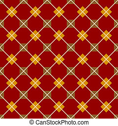Red seamless geometrical pattern