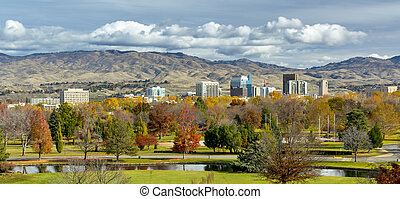 Autumn in the City of trees Boise Idaho - City of Boise and...