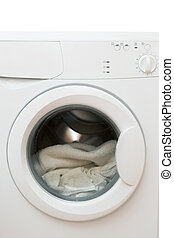 Clothes washer - White clothes washer