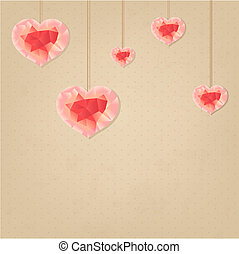 Valentines Day Vintage Background