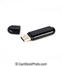 pendrive isolated on white