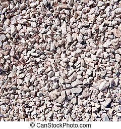 Gravel textured background.
