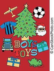 Christmas boys toys.