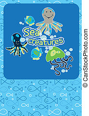 Cute sea creatures.