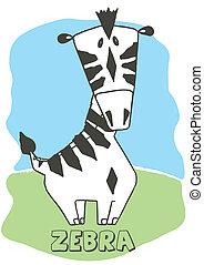 Cute Zebra.