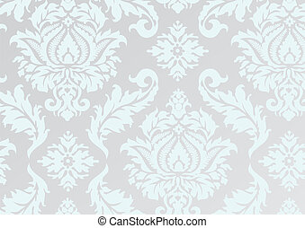 damask repeat pattern
