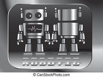 Little robot.